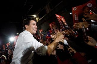 Justin Trudeau obtine al doilea mandat, dar pierde majoritatea absoluta in Parlament