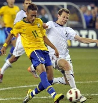 Juventus, aproape de a-l transfera pe Neymar, copilul teribil al Braziliei