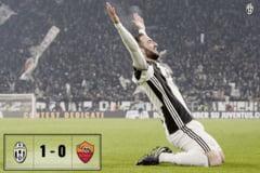 Juventus castiga derbiul Italiei si continua cursa catre un record fantastic in Serie A