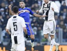 Juventus castiga ultimul meci din 2018 dupa o partida cu scandal. Sampdoria a avut un gol anulat prin VAR in minutul 92 (Video)