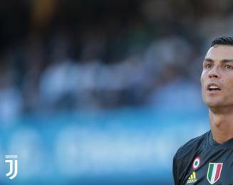 Juventus castiga un meci dramatic la Chievo, in primul joc oficial al lui Cristiano Ronaldo in Serie A