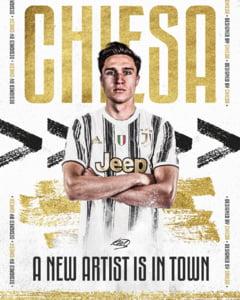Juventus l-a transferat pe Federico Chiesa. Italianul a ajuns in acelasi timp cu Ianis Hagi la prima echipa a Fiorentinei