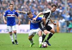 Juventus pierde surprinzator la Sampdoria, dupa o asteptare de patru ani