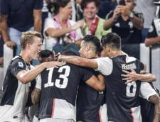 Juventus trece in marele derbi din Serie A de Napoli, dupa un thriller cu 7 goluri. Un autogol in minutul 92 a decis partida (Video)