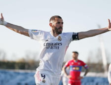 Karim Benzema il face uitat pe Cristiano Ronaldo. Ce performanta a reusit francezul in Champions League