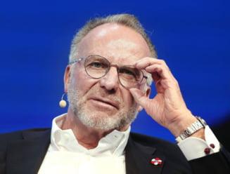 Karl-Heinz Rummenigge vede si lucruri pozitive in criza generata de pandemia de coronavirus
