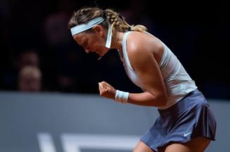 Karolina Pliskova, campioana en-titre de la Stuttgart, eliminata prematur dupa un meci de poveste