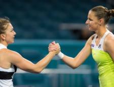 Karolina Pliskova, despre Simona Halep: A castigat turnee la care putea pierde fiecare meci