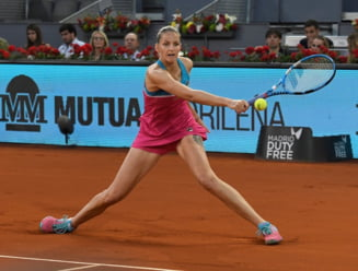 Karolina Pliskova, invingatoarea Simonei Halep, a fost eliminata la Madrid. Care este finala turneului patronat de Ion Tiriac