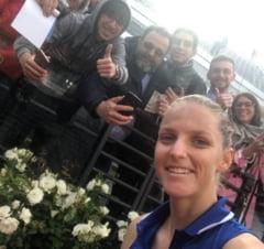 Karolina Pliskova, surprinsa ca a ajuns in finala la Roma