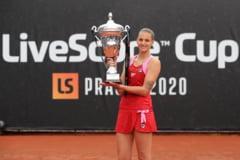 Karolina Pliskova a castigat un turneu demonstrativ in Cehia