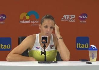 Karolina Pliskova a rabufnit la adresa organizatorilor dupa finala pierduta la Miami: Ce spune despre meciul cu Simona Halep