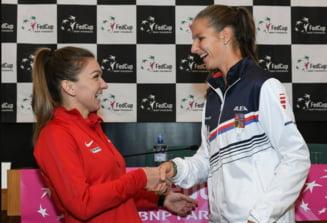 Karolina Pliskova dezvaluie ca a disputat un meci amical cu Simona Halep inaintea turneului de la Miami: Scorul zdrobitor ii da, totusi, curaj