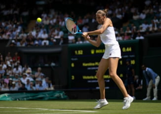 Karolina Pliskova face o demonstratie de forta in turul doi de la Wimbledon