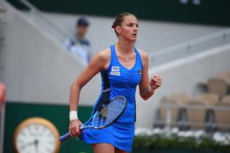 Karolina Pliskova incepe in forta turneul de la Roland Garros