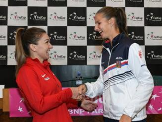 Karolina Pliskova povesteste un episod cu Simona Halep si Maria Sharapova: Un salut nu a ucis pe nimeni!