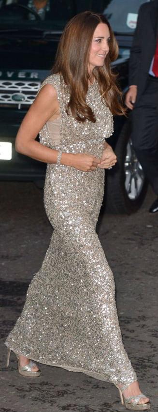 Kate Middleton, criticata pentru felul in care arata