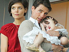 Katie Holmes si Tom Cruise, impreuna de Ziua Recunostintei