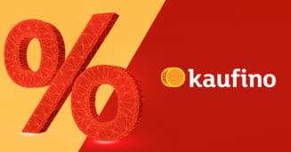Kaufino - ultimele promoții și oferte speciale într-un singur loc