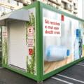 Kaufland isi doteaza magazinele cu aparate de reciclare si rasplateste clientii care le folosesc