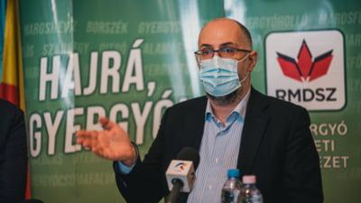 """Kelemen Hunor anunta sprijinul UDMR pentru Vlad Voiculescu: """"Nu ministrul Sanatatii raspunde pentru o defectiune tehnica"""""""