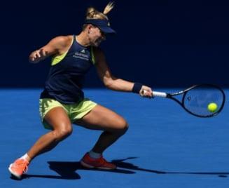 Kerber, vazuta drept principala favorita la castigarea Australian Open. Ce loc ocupa Simona Halep