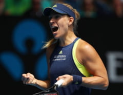 Kerber o invinge pe Madison Keys si o asteapta pe Halep in semifinalele Australian Open