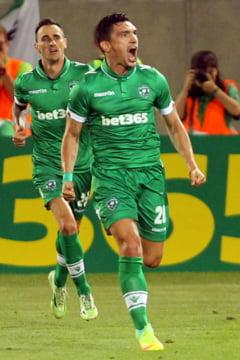Keseru, nechemat la nationala, in mare forma la Ludogorets. A marcat doua goluri in Bulgaria