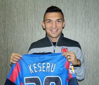 Keseru a semnat cu Steaua! Primele declaratii ale atacantului dupa transferul in Ghencea