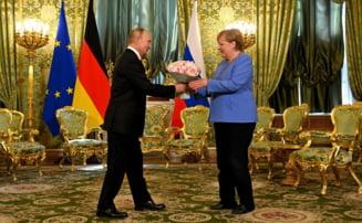 """Kievul, avertisment pentru Angela Merkel: """"Nord Stream 2 este o periculoasă armă geopolitică a Kremlinului''"""