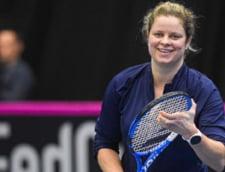 """Kim Clijsters o lauda pe Simona Halep dupa antrenamentul efectuat impreuna la Dubai: """"Sunt un mare fan al Simonei de cativa ani"""""""