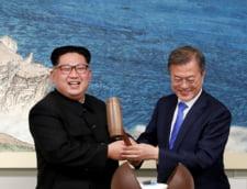 Kim Jong Un, presedinte Coreea de Nord, intalnire cu Moon Jae-In, presedinte Coreea de Sud