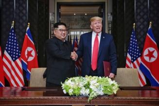 Kim Jong Un isi exprima ''marea satisfactie'' dupa ce a primit o scrisoare de la Donald Trump