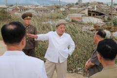 """Kim Jong Un lauda armata pentru ca a reconstruit """"un taram socialist de basm"""", dupa inundatiile care au devastat Coreea de Nord"""