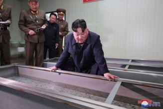 Kim Jong-un se arata incantat, dupa ce a supravegheat testarea unei noi arme tactice