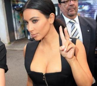 Kim Kardashian, o noua aparitie incendiara (Foto)