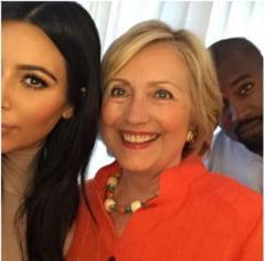 Kim Kardashian, selfie cu Hillary Clinton, urmatorul presedinte american - Ce gafe a facut