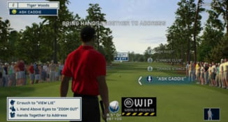 Kinect - provocarea Tiger Woods PGA Tour 13 (Video)