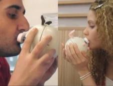 Kiss-Messenger: cand tehnologia trimite un sarut la departare (Video)