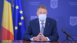 "Klaus Iohannis: ""Astazi vom depasi 100.000 de persoane vaccinate intr-o zi"""