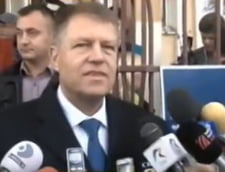 Klaus Iohannis: Am votat cu emotii pentru o Romanie a respectului (Video)