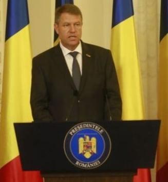 Klaus Iohannis: Cei care au exagerat trebuie sa traiasca cu asta