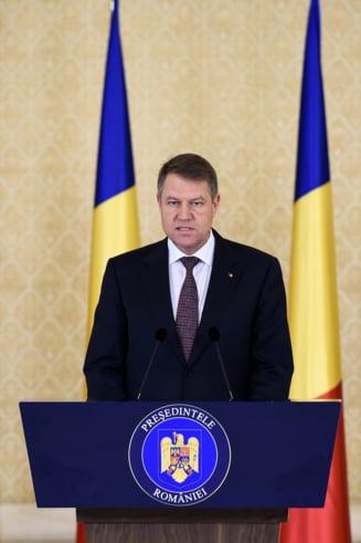 Klaus Iohannis: E momentul sa trecem la o noua etapa a democratiei. Sa nu avem doua Romanii