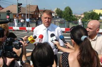 Klaus Iohannis: Nu facem aliante pentru alegeri