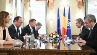 Klaus Iohannis: Parcursul european e singura cale viabila pentru Republica Moldova