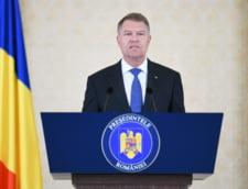 Klaus Iohannis: Sunt alaturi de magistrati, in lupta anticoruptie (Video)