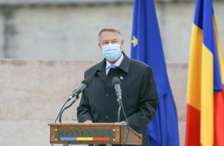 Klaus Iohannis: Sunt profund indurerat de decesul pacientilor de la Sectia de Terapie Intensiva din Piatra Neamt
