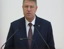 Klaus Iohannis, cadou pentru copii: Mi-am propus sa promulg dublarea alocatiilor pe 1 iunie (Video)