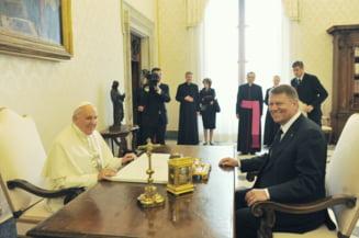 Klaus Iohannis, detalii despre intalnirea emotionanta cu papa Francisc - ce au discutat