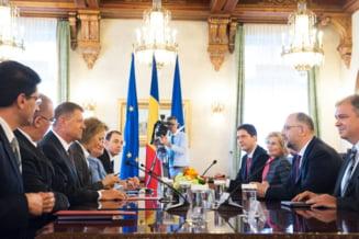 Klaus Iohannis, dupa consultari: Intram in normalitate. Exista un acord pe trei mari chestiuni